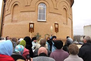 Храм во имя Казанской иконы Божией Матери освящен во Мценском районе