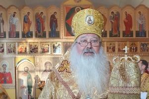 Архиерейское богослужение впервые состоялось в д. Хотимль-Куменково