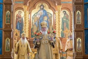 Владыка Тихон принял участие в праздновании Собора святых, в земли Воронежской просиявших