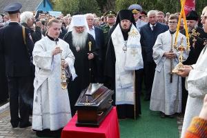 В Свердловском районе перезахоронены останки Министра внутренних дел Российской империи князя Алексея Куракина