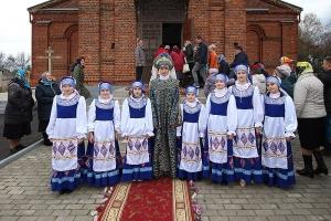 В канун праздника Покрова Архипастырь совершил всенощное бдение в Большой Куликовке