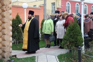 В Орле молитвенно помянули погибших сотрудников УМВД