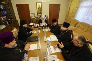 Состоялось заседание Архиерейского совета Орловской митрополии