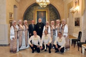 Ансамбль из Болхова стал обладателем Гран-при международного конкурса православной песни «Невские купола»