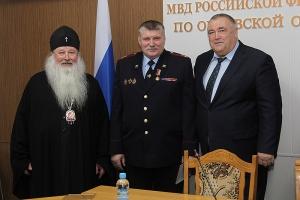 Сотрудники регионального УМВД удостоены наград Орловской епархии