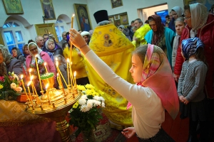 Митрополит Тихон посетил с Архипастырским визитом Сосковский район