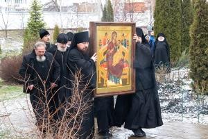 Свято-Успенский монастырь обрел новую святыню — список чудотворный иконы Богородицы «Всецарица»