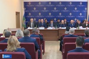 Архипастырь участвовал в в расширенном заседании коллегии СУ СК РФ по Орловской области