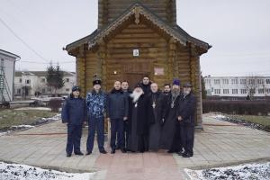 Митрополит Тихон посетил с Архипастырским визитом Шуховскую колонию-поселение
