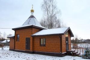 Архиерейская литургия впервые состоялась в деревне Жудре