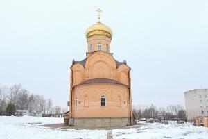 Митрополит Тихон впервые посетил храм Казанской иконы Божией Матери в селе Отрадинское с Архипастырским визитом