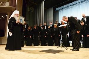 Митрополит Тихон поздравил Губернаторский хор «Лик» с 30-летием