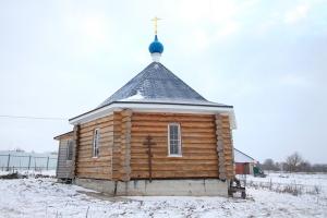 Архиерейская литургия впервые совершена в храме села Жихарево