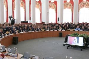 Митрополит Тихон участвовал в заседании Координационного совещания по обеспечению правопорядка в Орловской области