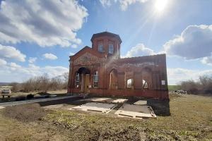 К Пасхе на куполе Космодамиановского храма в селе Дьячье установят новый крест