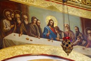 Тайная Вечеря. Иконостас Петропавловского храма г. Мценска