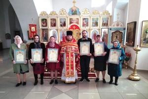 Благотворители Георгиевского храма в Болхове награждены Архиерейскими грамотами