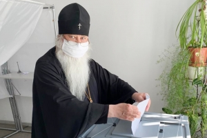 Управляющий Орловской митрополией принял участие в голосовании по поправкам к Конституции Российской Федерации