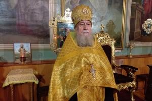 Митрополит Тихон поздравил протоиерея Димитрия Захарова с 70-летием