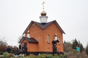 Первая литургия совершена Архипастырем в строящемся храме под Нарышкино