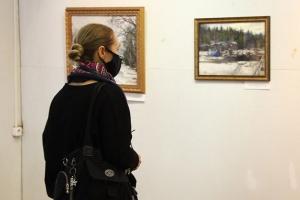 «Живописный Валаам»: в Орловском музее изобразительных искусств открылась выставка о северной обители
