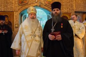 Во Мценске молитвенно отметили 30-летие служения протоиерея Владимира Герченова в священном сане