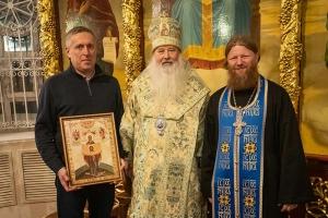 Митрополит Тихон благословил экспедицию орловских дайверов на Валаам