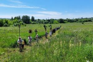 В Болхове прошел Троицкий крестный ход