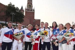 Святейший Патриарх —российским олимпийцам: «Победы достоин только тот, кто не превозносится горделиво над соперником»