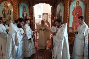 В праздник Преображения Господня митрополит Тихон совершил Литургию в Лаврово