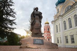 В Болхове освящен памятник святителю Николаю Чудотворцу