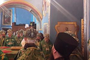 В день памяти преподобного Сергия Радонежского митрополит Антоний принял участие
