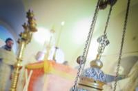 В день памяти святителя Василия Великого торжества в честь 20-летия возрождения Троице-Васильевского храма Орла возглавил епископ Мценский Алексий. 14 января 2019 г.