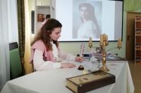 Священник и педагоги рассказали ученикам «Вятского Посада» о настоящей семье. 6 марта 2019 г.