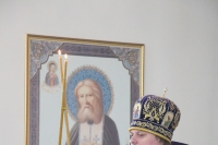 В Неделю 3-ю Великого поста, Крестопоклонную, епископ Мценский Алексий, викарий Орловской епархии, возглавил Божественную литургию в Успенском (Михаило-Архангельском) соборе Орла. 31 марта 2019 г.