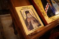 В орловском Свято-Успенском мужском монастыре вечером 6 ноября 2018 г. состоялась торжественная встреча ковчега с частицей мощей святителя Луки (Войно-Ясенецкого).
