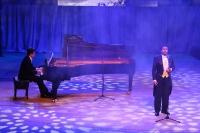 Митрополит Орловский и Болховский Антоний посетил праздничный гала-концерт «200 лет с Тургеневым», посвященный юбилею классика. 9 ноября 2018 г.