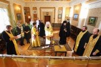 23 ноября 2018 г. митрополит Орловский и Болховский Антоний освятил походный иконостас, который 27 ноября был размещен на борту атомного подводного ракетного крейсера К-266 «Орёл»