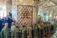 В канун дня памяти прп. Сергия Радонежского Архипастыри Орловской митрополии приняли участие в торжествах в Троице-Сергиевой Лавре. 17 июля 2018 г.
