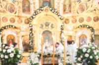 В праздник Крещения Господа нашего Иисуса Христа митрополит Орловский и Болховский Антоний совершил Божественную литургию и Чин великого освящения воды в Богоявленском соборе города Орла. 19 января 2019 г.
