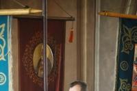 В праздник перенесения мощей святителя Николая Чудотворца изМир Ликийских вБар митрополит Орловский и Болховский Тихон возглавил литургию в Николо-Псковском храме Орла. 22 мая 2019 г.
