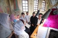 В Неделю 5-ю по Пасхе митрополит Орловский и Болховский Тихон совершил литургию в храме святого Александра Невского в 909 квартале Орла. 26 мая 2019 г.