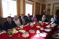 Митрополит Орловский иБолховский Тихон встретился с представителями предпринимательских общественных организаций, работающих в Орловской области. 6 мая 2019 г.