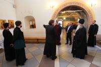 Митрополит Орловский и Болховский Тихон посетил храм Живоначальной Троицы в Болхове. 3 мая 2019 г.