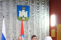 Митрополит Орловский и Болховский Тихон участвовал в торжественном мероприятии в честь Дня России в администрации Орловской области. 11 июня 2019 г.