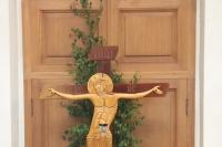 В канун праздника Святой Троицы (Пятидесятницы) митрополит Орловский и Болховский Тихон возглавил всенощное бдение в храме Святой Живоначальной Троицы города Болхова. 15 июня 2019 г.