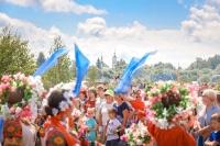 В селе Льгов прошел 20-й Международный фольклорный праздник «Троицкие хороводы в Орловском Полесье». 16 июня 2019 г.