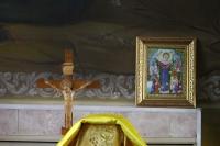 Митрополит Архангельский Даниил в сослужении митрополита Орловского Тихона совершил Божественную литургию в Богоявленском соборе г. Орла. 23 июня 2019 г.