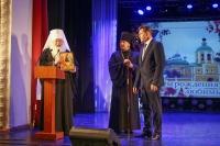 Митрополит Орловский и Болховский Тихон и епископ Ливенский и Малоархангельский Нектарий приняли участие в ежегодной церемонии «Лица года» в Ливнах. 28 июня 2019 г.