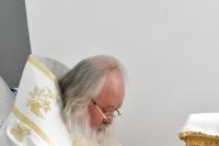 Литургия, освящение домового храма вчесть святителя Игнатия Брянчанинова и встреча митрополита Орловского и Болховского Тихона и схиархимандрита Илия с молодежью: в «Вятском Посаде» отметили двухлетие центра. 7-8 июня 2019 г.